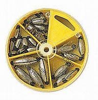 Skrusøkker gummilås gul